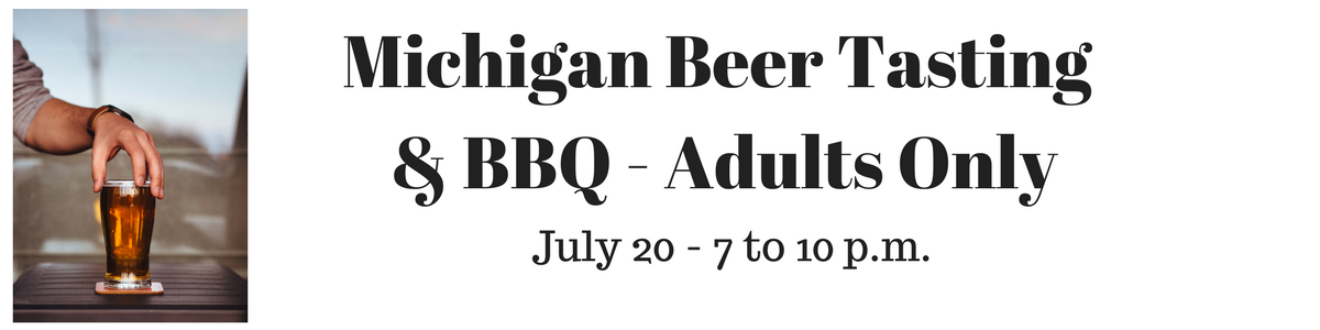 Michigan Beer Tasting & BBQ